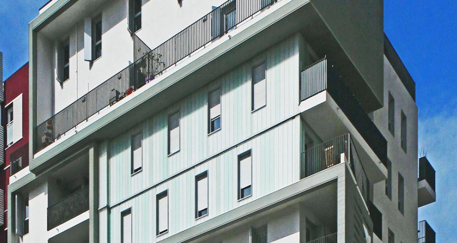 giraud ; btp ; entreprise général bâtiment ; spécialiste béton ; résidence PINK GARDEN ; montpellier; architecte ; carmen santana