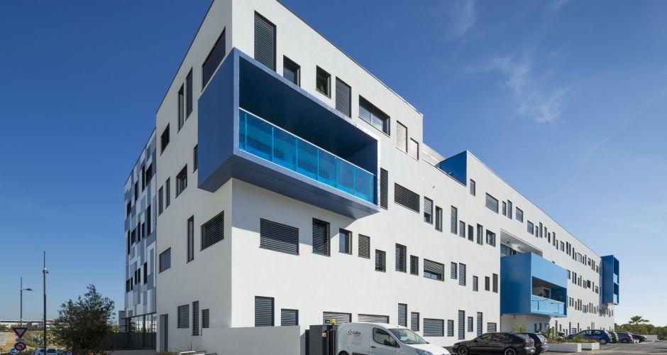 giraud ; btp ; immeuble ; bureaux ; terra ; verde ; montpellier ; architecte ; gilles ; chretien- ; aout ; 2015