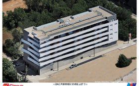 Giraud/construction/logements/Montpellier/béton/neuf